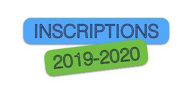 Inscriptions 2019/2020: Jours et horaires des permanences